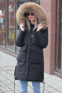 Теплая парка Canada goose для холодной зимы